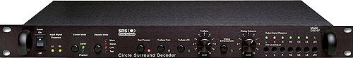 SRS CSD-07A Circle Surround Reference Decoder FRONT